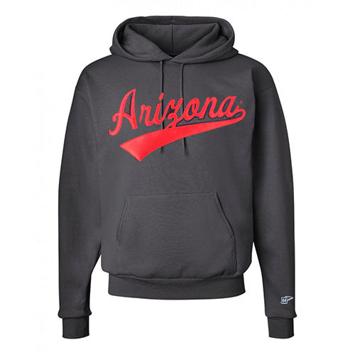 NCAA ARIZONA WILDCATS TOP LINER HOODIE - CHARCOAL