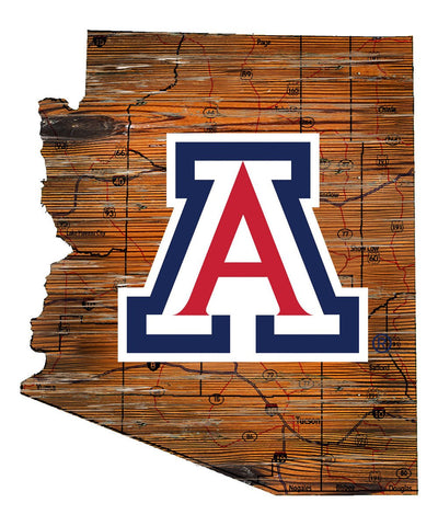 NCAA Arizona Wildcats, Arizona State Fan Creation Cutout