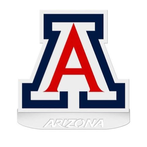 NCAA ARIZONA WILDCATS LOGO WITH STAND GAMEDAY IRON WORKS SIGN