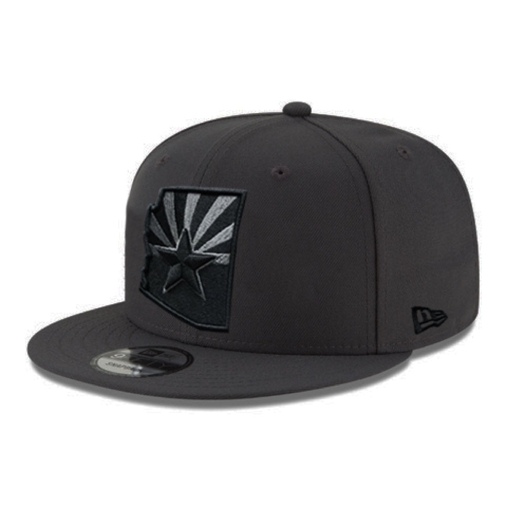 New Era Custom Cactus Arizona State Logo 9FIFTY - Graphite