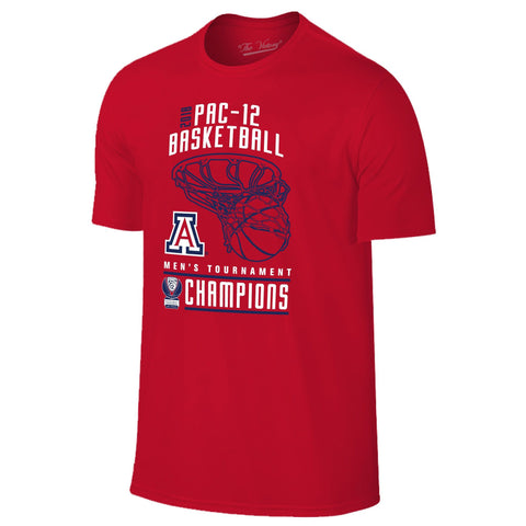 Arizona Wildcats 2018 Pac-12 Champions Locker Room Tee - Red