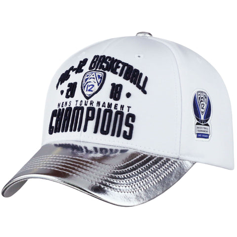 Arizona Wildcats 2018 Pac-12 Champions Locker Room Hat - White