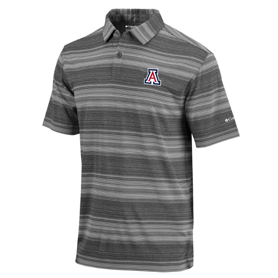 NCAA Arizona Wildcats Columbia Slide Polo - Black