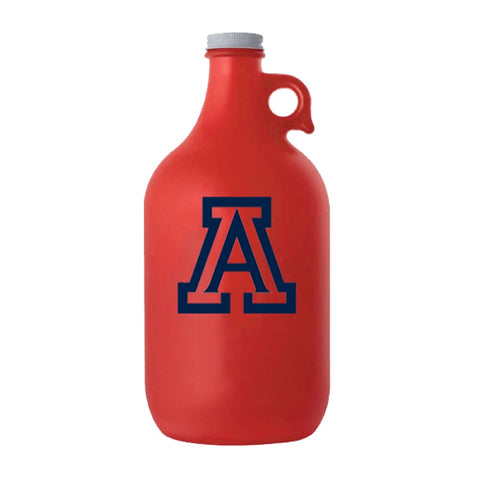 NCAA ARIZONA WILDCATS BOELTER BRAND FROSTED GROWLER - RED