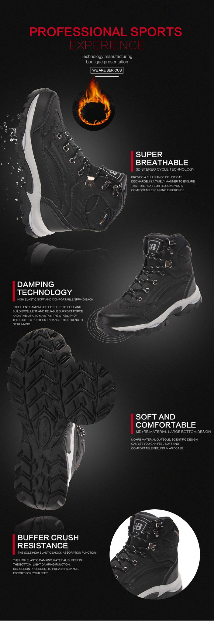 hiking outdoor boots