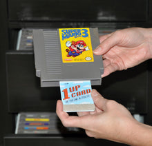 how to clean nintendo games with the 1UPcard