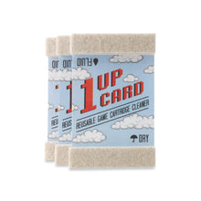 1UPcard Video Game Cartridge Cleaning Cards - 3 Pack