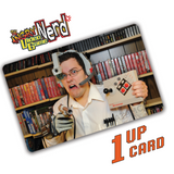 AVGN 1UPcard™ 9 card pack - Officially Licensed Angry Video Game Nerd edition game cartridge cleaning cards