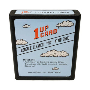 Console Cleaner Compatible with Atari 2600 Video Game System by 1UPcard™