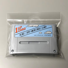Super Famicom / PALSNES Console Cleaner - PAL / Super Famicom Nintendo Cleaning Cartridge by 1UPcard™