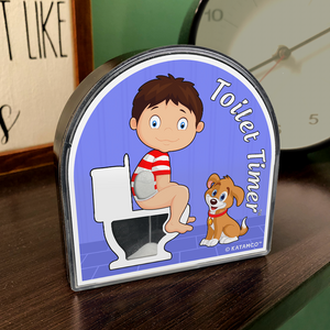 Toilet Timer for Kids - Boy