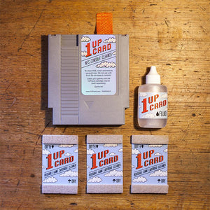 NES Cleaning Kit by 1UPcard - Console and Game Cartridge Cleaner Bundle