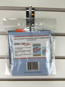 Nes console cleaner in packaging back