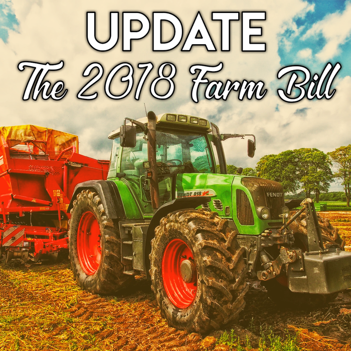 Delays Push Back The Imminent Passing of The 2018 Farm Bill | A U.S. Hemp Roundtable Report