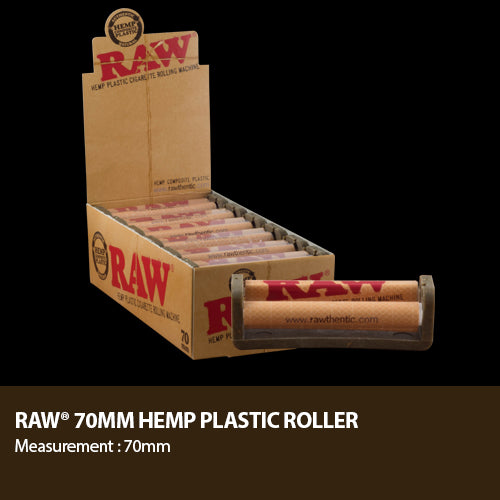 Raw Hemp Roller | Hemp Plastic Rolling Machine | Choose Size | RAW | HIGHEST QUALITY HEMP PRODUCTS | St. Margaret's Holistic Remedies, LLC | Organically Grown American Industrial Hemp | CBD Near Me