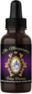 500mg Broad-Spectrum Industrial Hemp Oil | MCT Tincture - .5oz/15ml | St. Margaret's Holistic Remedies, LLC | HIGHEST QUALITY HEMP PRODUCTS | St. Margaret's Holistic Remedies, LLC | Organically Grown American Industrial Hemp | CBD Near Me