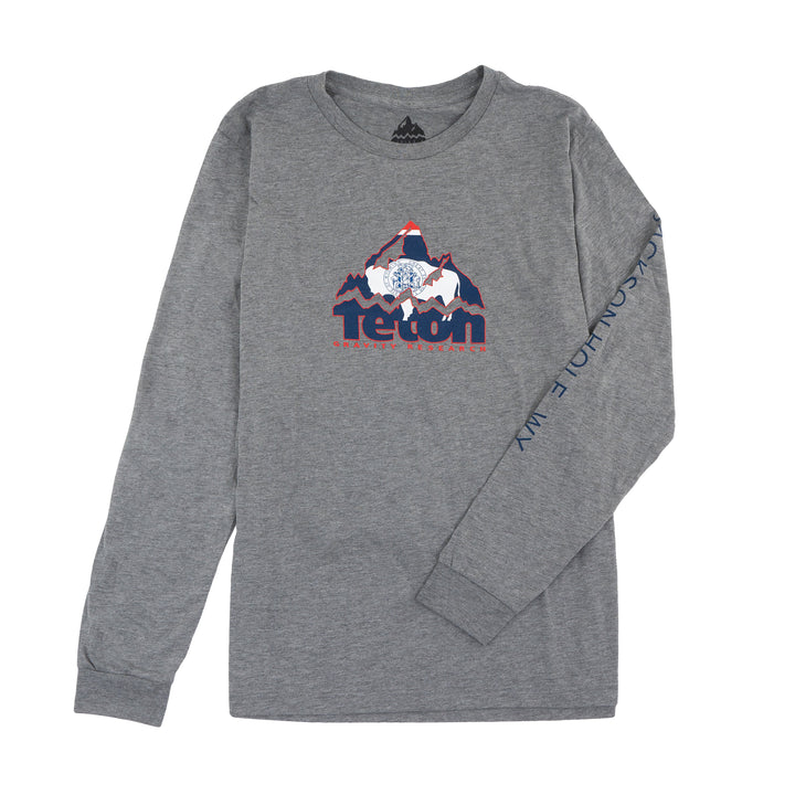 TGR WY Flag Mountain Logo Long Sleeve