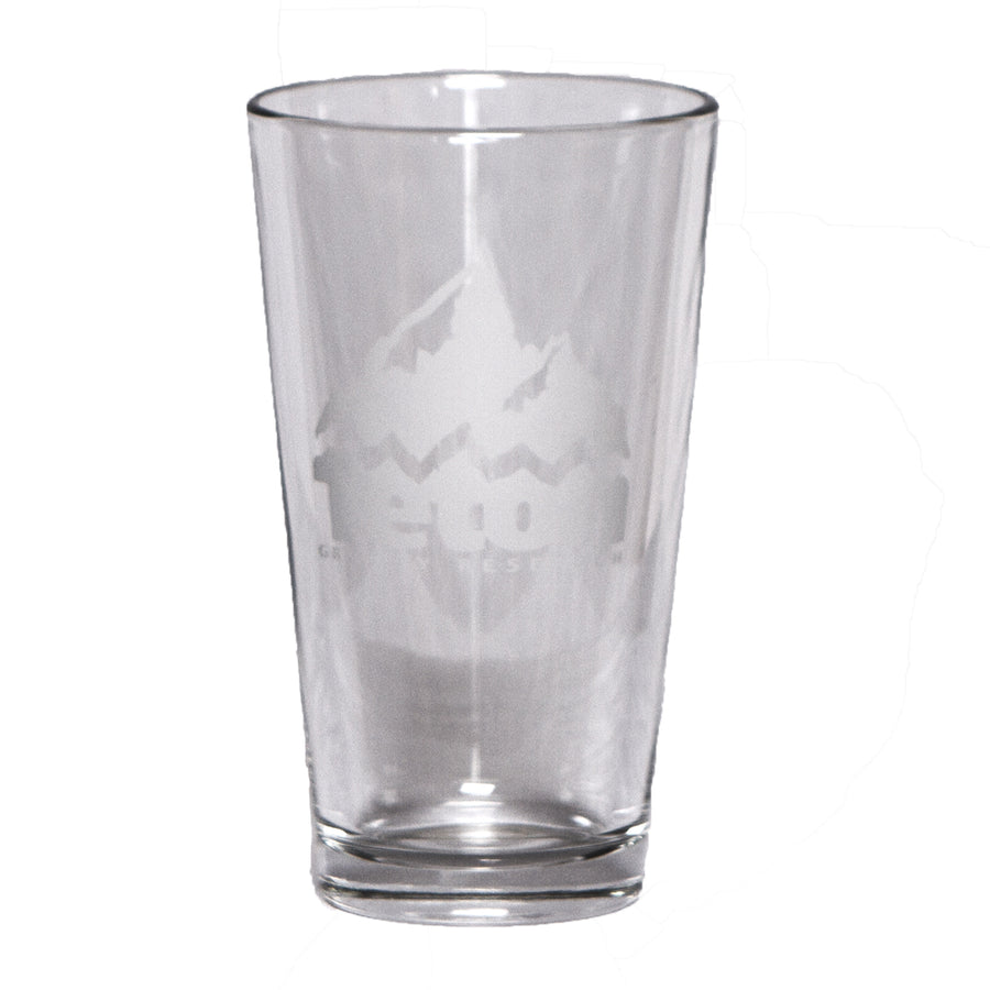 TGR Logo Pint Glass