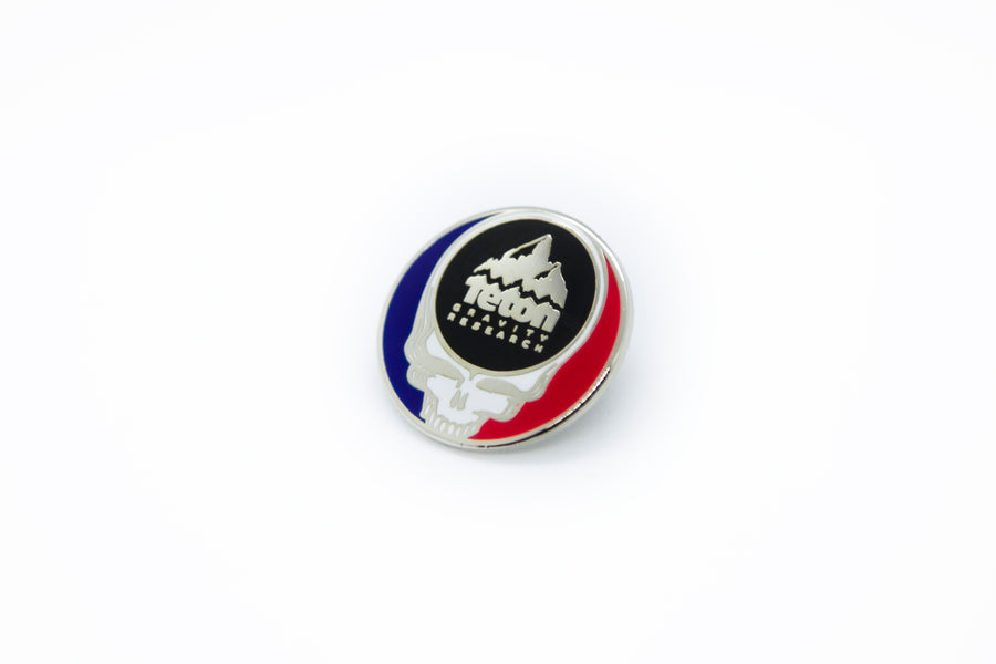 Grateful Dead X TGR Steal Your Face Pin