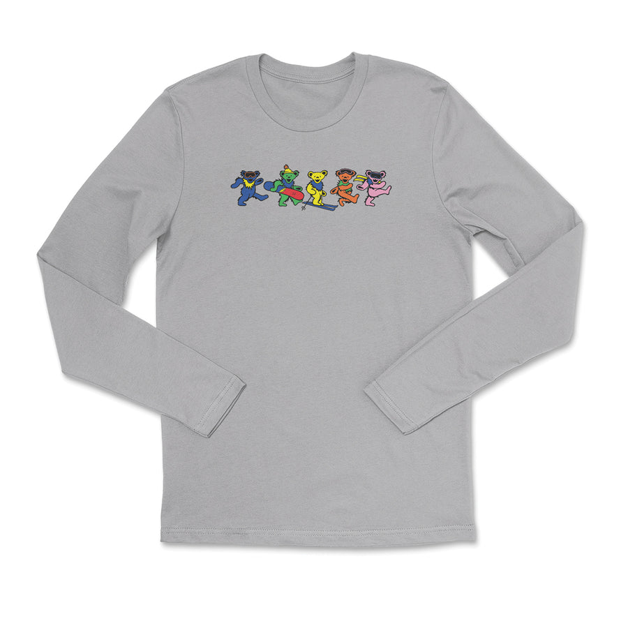 Grateful Dead x TGR Long Sleeve Dancing Shred Bears