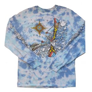 Grateful Dead x TGR Intergalactic Skier Long Sleeve Tie Dye