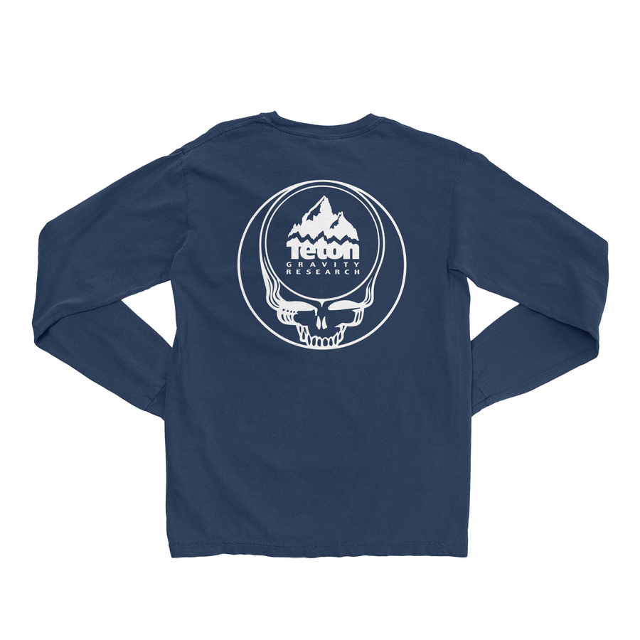 Grateful Dead x TGR Steal Your Face Long Sleeve Tee