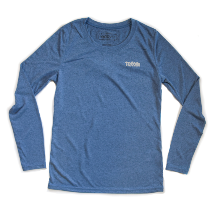 TGR Women's Recycled Performance Long Sleeve Tee