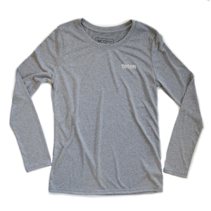 Women's Recycled Performance Long Sleeve Tee