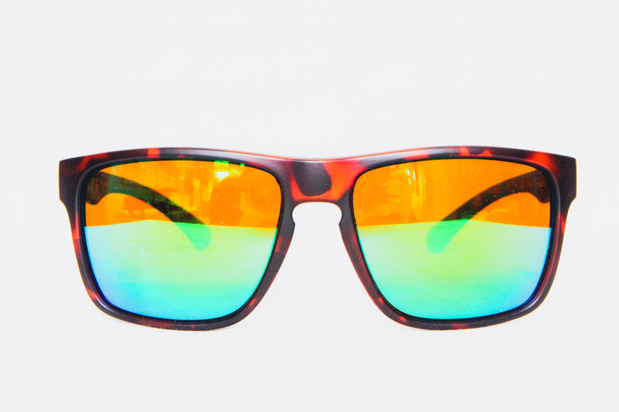 The TGR SickBird Sunglasses - Brown/Green - Polarized