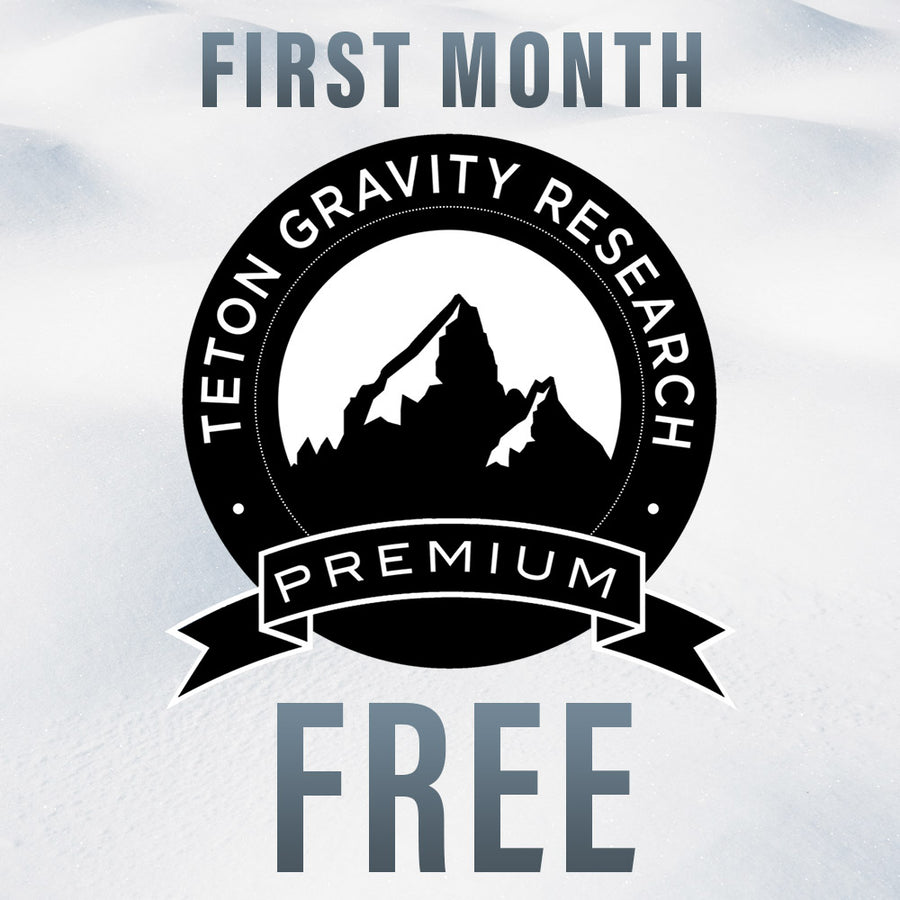 Free Month Teton Gravity Research Premium (Discount Applied at Checkout)