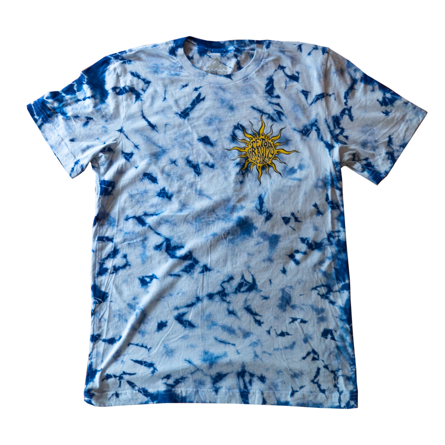"Grateful Dead x TGR ""Uncle Sam"" Tee by Peter Forsythe Tie Dye"
