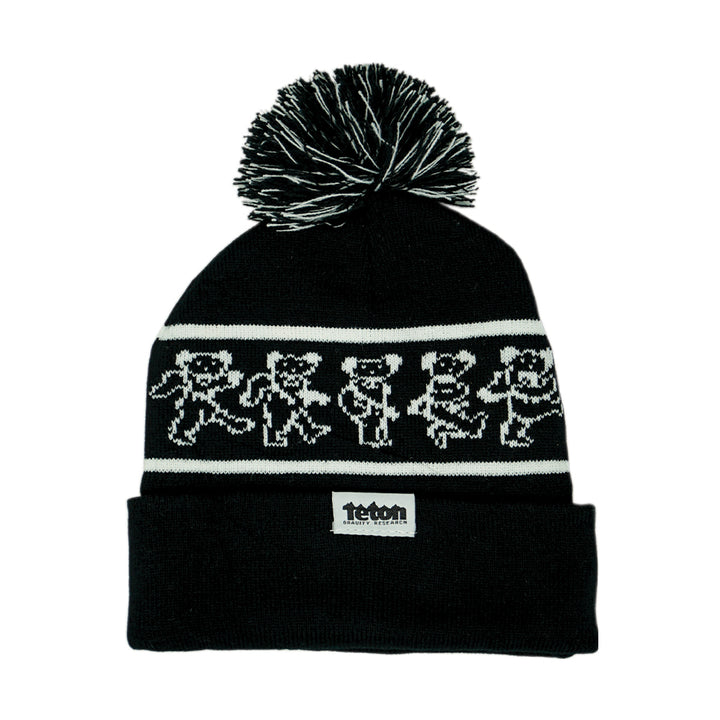 Grateful Dead x TGR Dancing Bears Pom Beanie