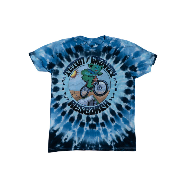 Grateful Dead x TGR Youth Mountain Time Bear Tie Dye by Peter Forsythe