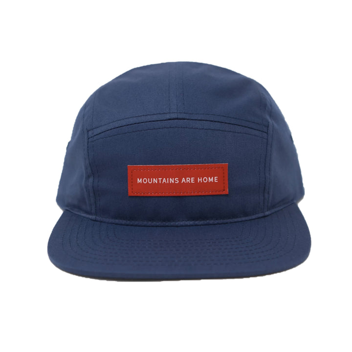 Mountains Are Home 5 Panel Hat