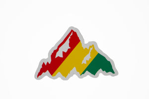 Kai Rasta Mountain Sticker