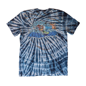 Grateful Dead x TGR Space Surfer Tie Dye by Peter Forsythe