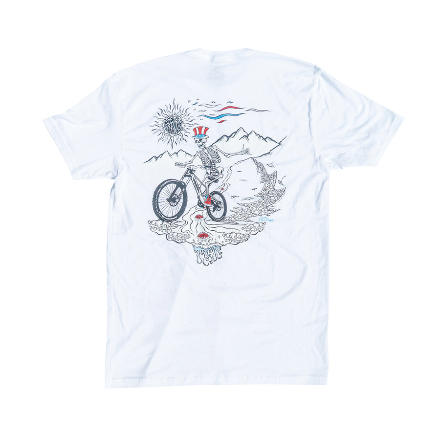 "Grateful Dead x TGR ""Uncle Sam"" Tee by Peter Forsythe"