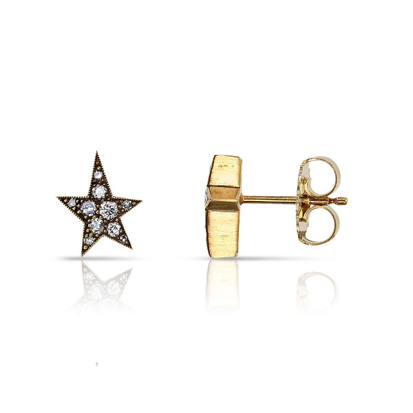 MINI COBBLESTONE KELSEY STUDS - SINGLE STONE