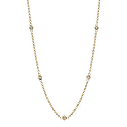 HELENA NECKLACE - SINGLE STONE