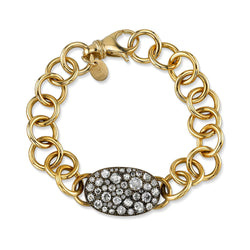 COBBLESTONE CLUB BRACELET - SINGLE STONE