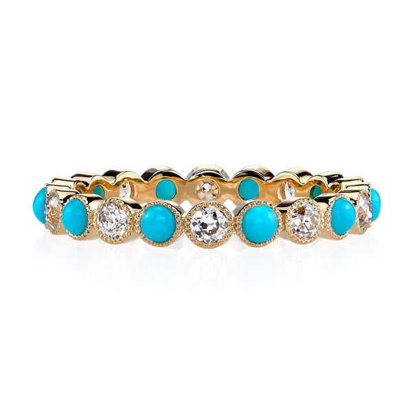 GABBY WITH TURQUOISE - SINGLE STONE