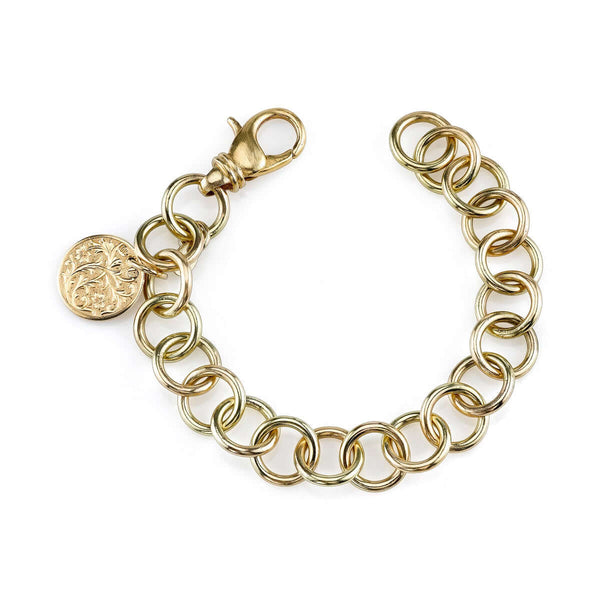 CLUB BRACELET WITH 15MM DISC