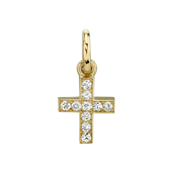 MINI CARMELLA CROSS - SINGLE STONE