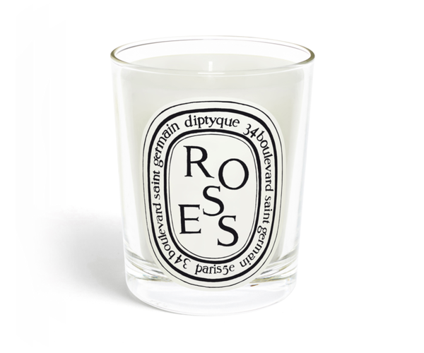 "DIPTYQUE ""ROSES"" SCENTED CANDLE"