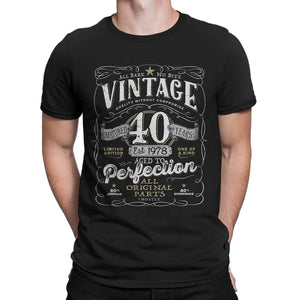 40th Birthday Shirts Tagged Gift For Him AgedToPerfection