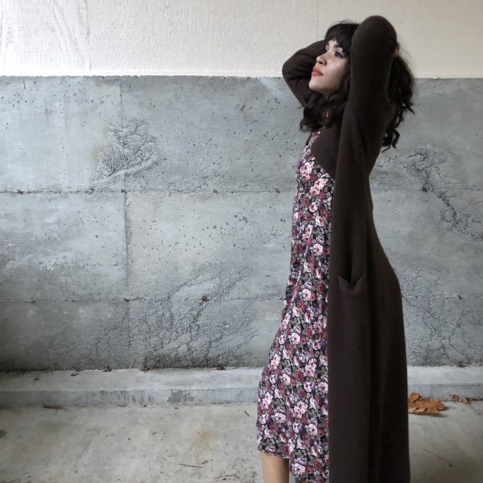 Vintage 90's Moda Brown Duster