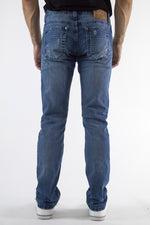 4.01.0049 | Slim | Dirty Medium Blue