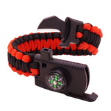 4 in 1 paracord bracelet survival tool