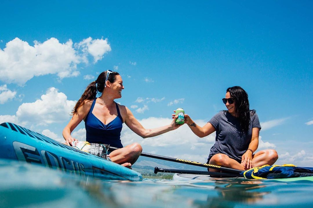Summer camping and paddleboarding guide