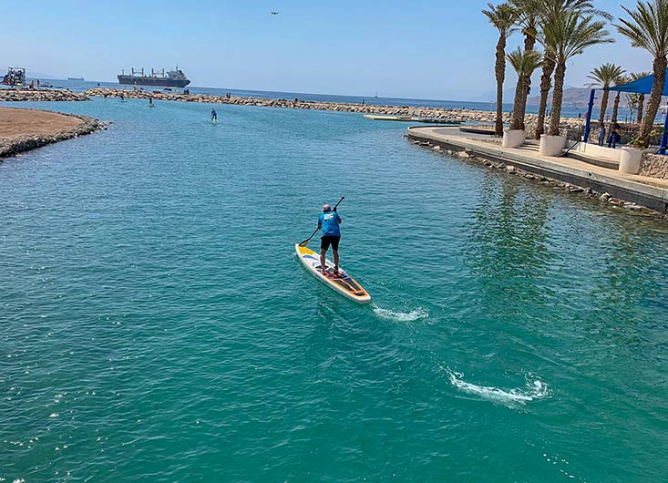 SuperFast race sup board